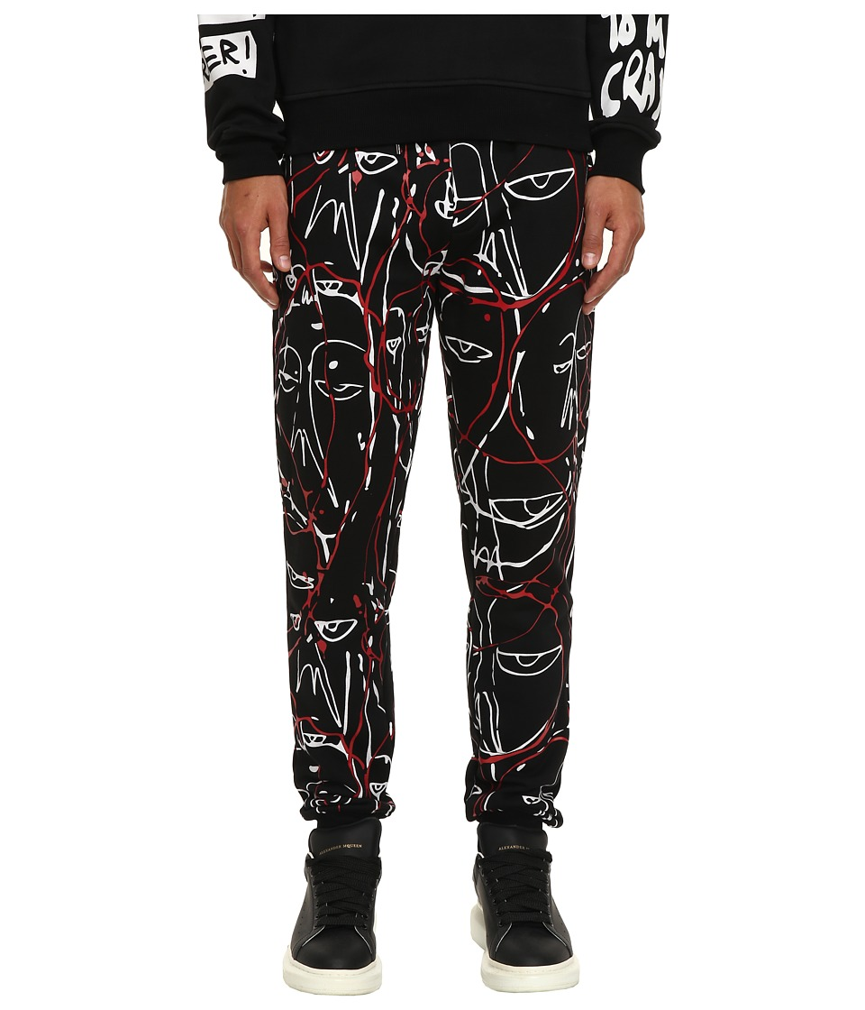 Haculla - One of a Kind Bloodwork Pants (Black) Men's Casual Pants