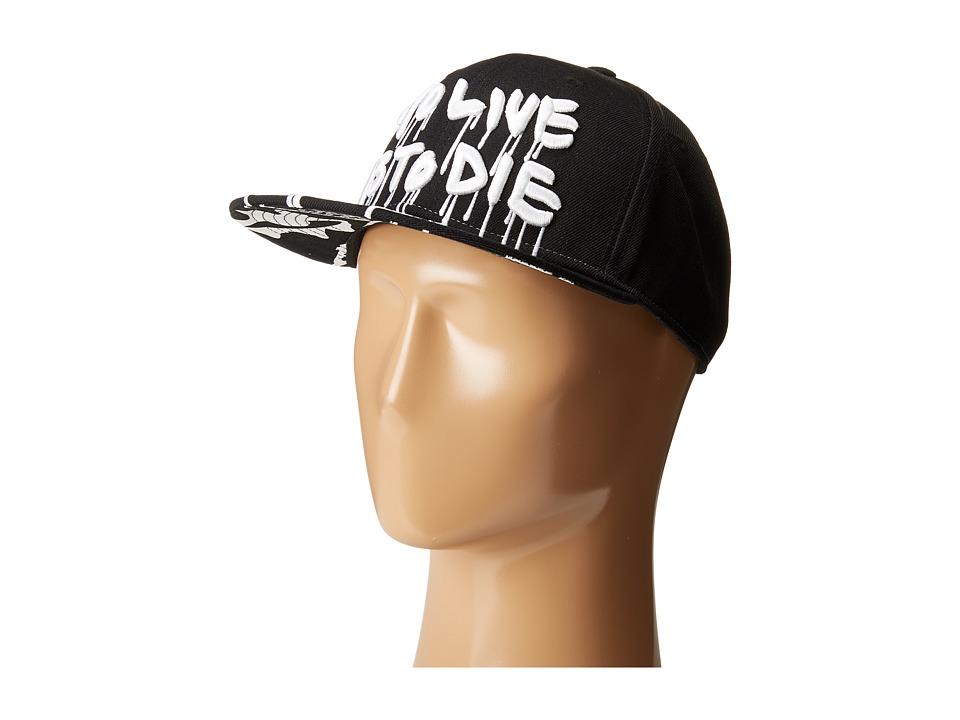 Haculla - Live or Die Snapback (Black) Caps