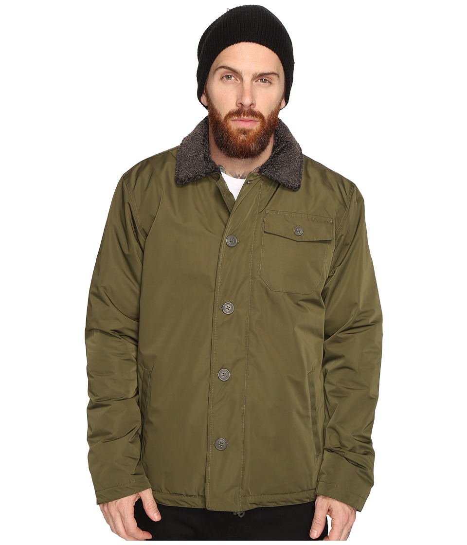 RVCA - N-1 Naval Jacket (Forest) Men's Coat