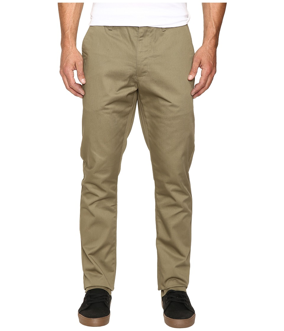 RVCA - The Week-End Pant (Dusky Green) Men's Casual Pants