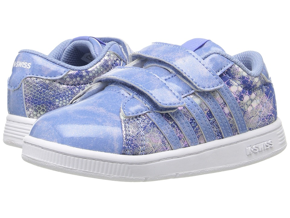 K-Swiss Kids - Hoke Snake Strap (Infant/Toddler) (Blue/White) Kids Shoes