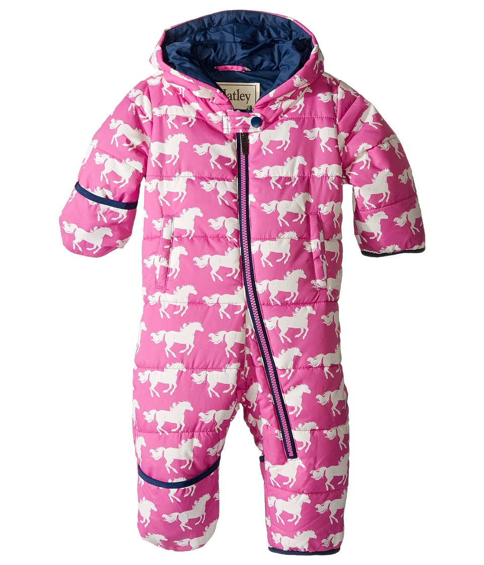 Hatley Kids - Fairy Tale Horses Bundler (Infant) (Pink) Girl's Clothing