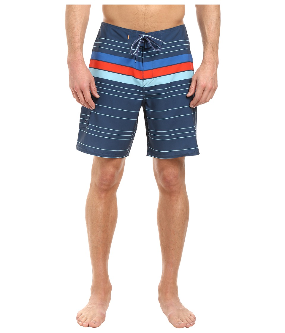 Quiksilver Waterman - Cedros Island (Ensign Blue) Men's Swimwear