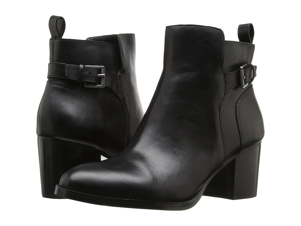 LAUREN Ralph Lauren Genna (Black Signature Burn Calf) High Heels