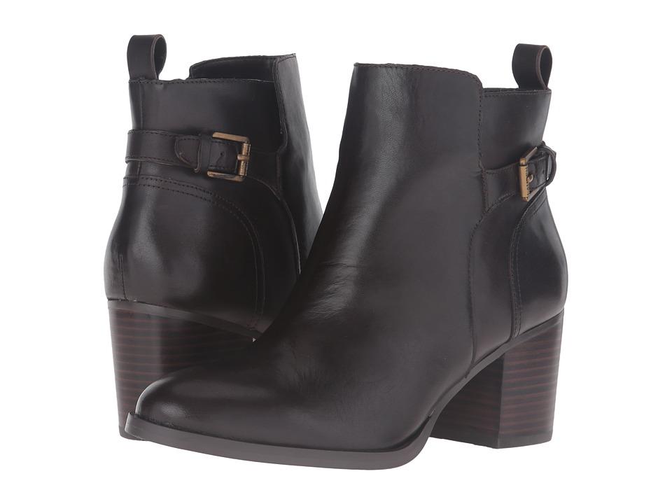 LAUREN Ralph Lauren - Genna (Dark Chocolate Burnished Vachetta) High Heels