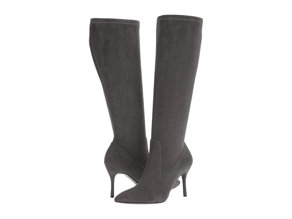 Nine West Calla-Wide (Dark Grey Fabric) Women