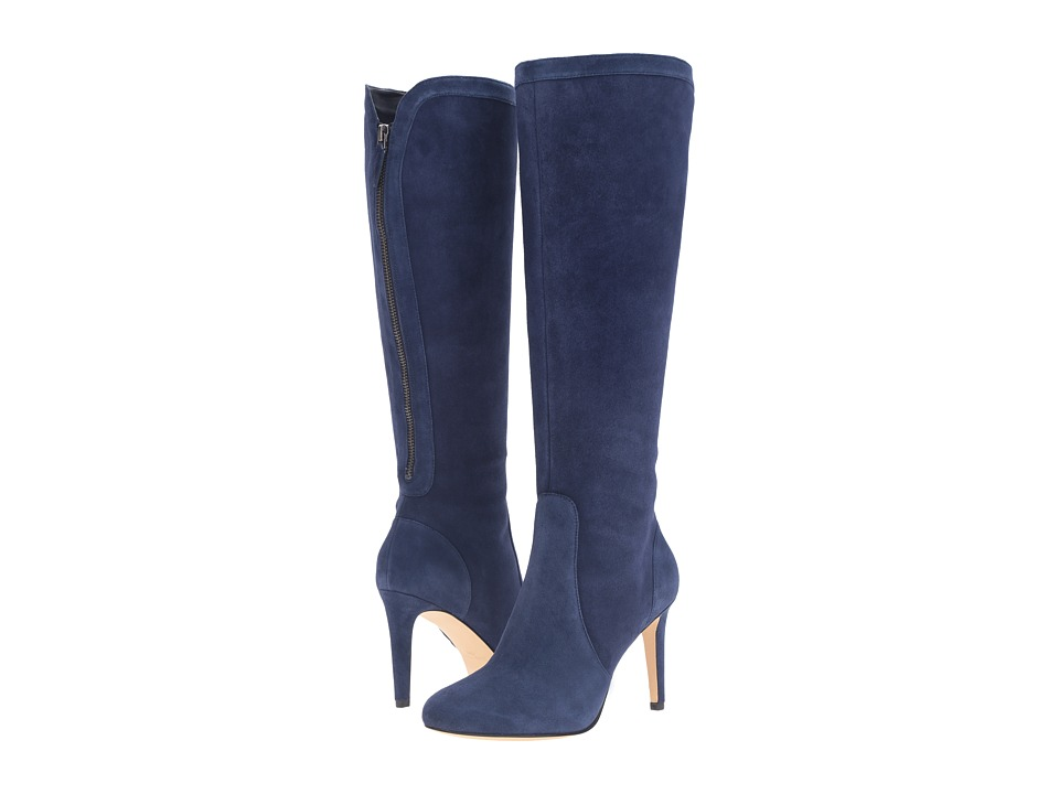 Nine West - Holdtight (Navy Suede) Women's Boots