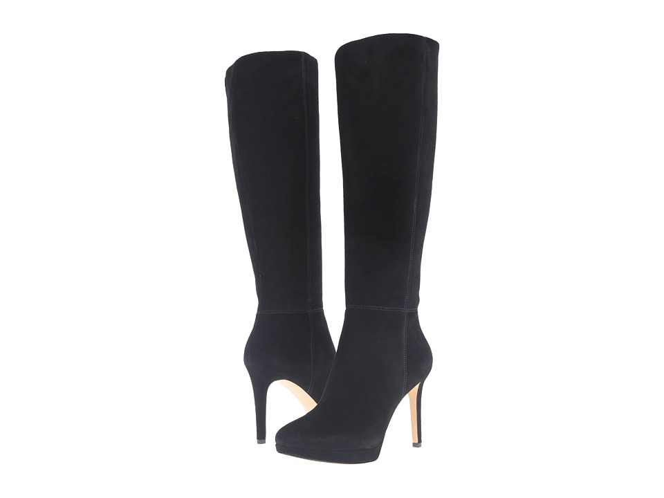 Nine West Okena Black Suede Womens Boots