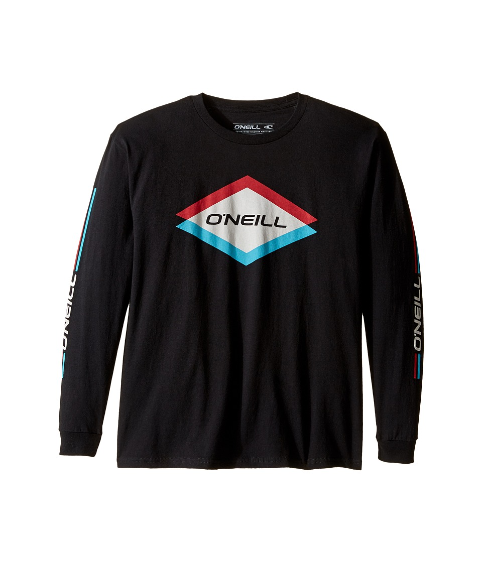 O'Neill Kids - Carbide Long Sleeve Shirt (Big Kids) (Black) Boy's Long Sleeve Pullover