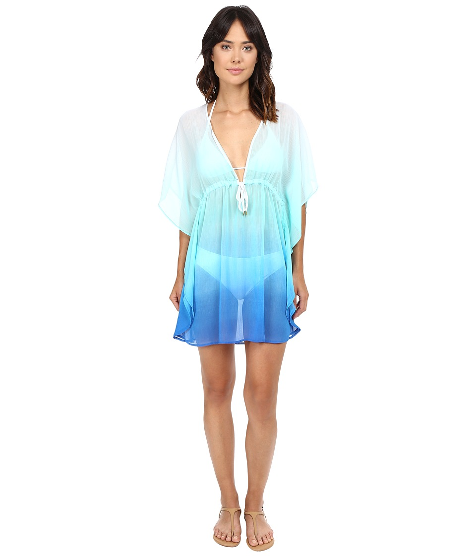 Bleu Rod Beattie - Fun in the Sun Caftan Cover-Up (Bleu Multi) Women's Swimwear