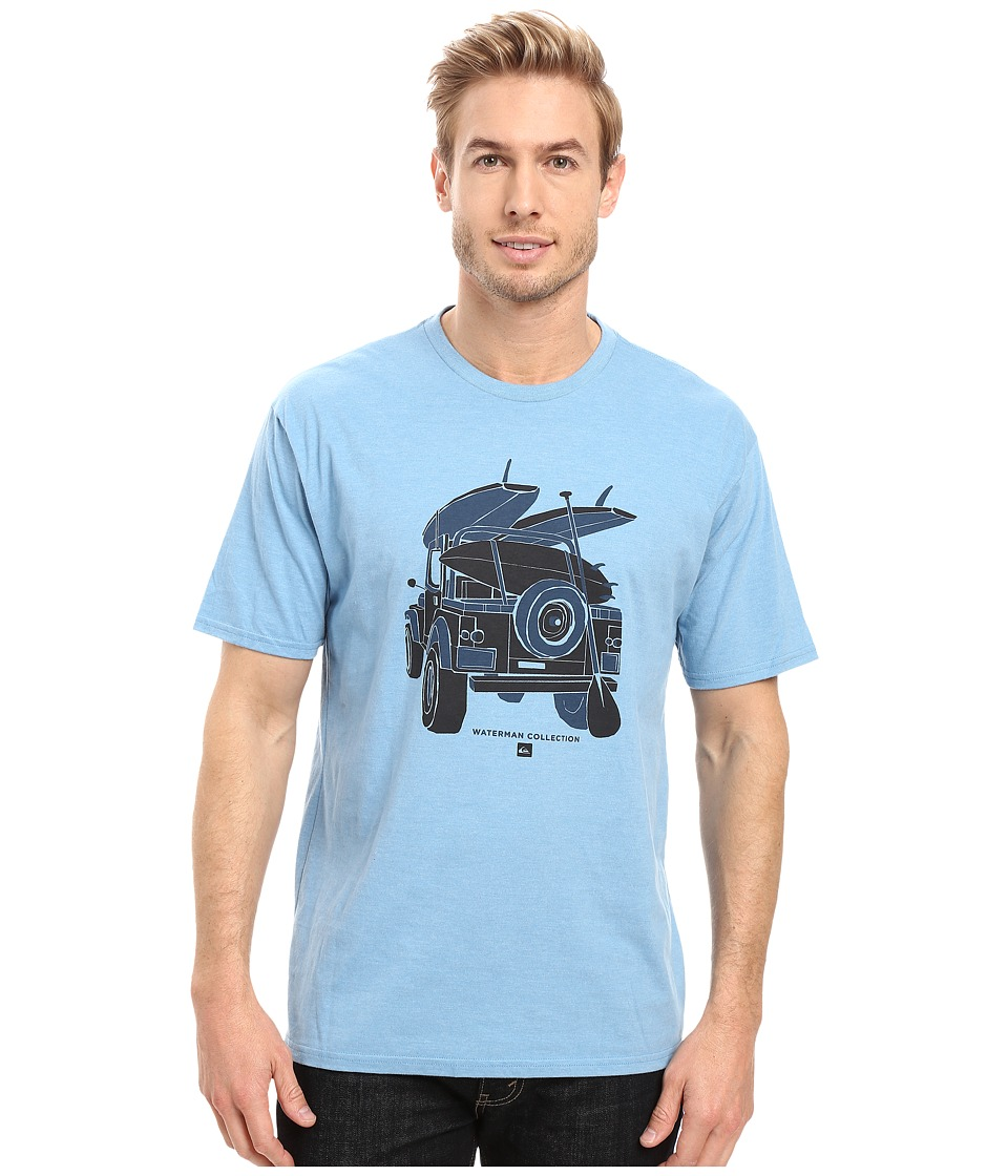 Quiksilver Waterman - Outta Here Tee (Niagara) Men's T Shirt