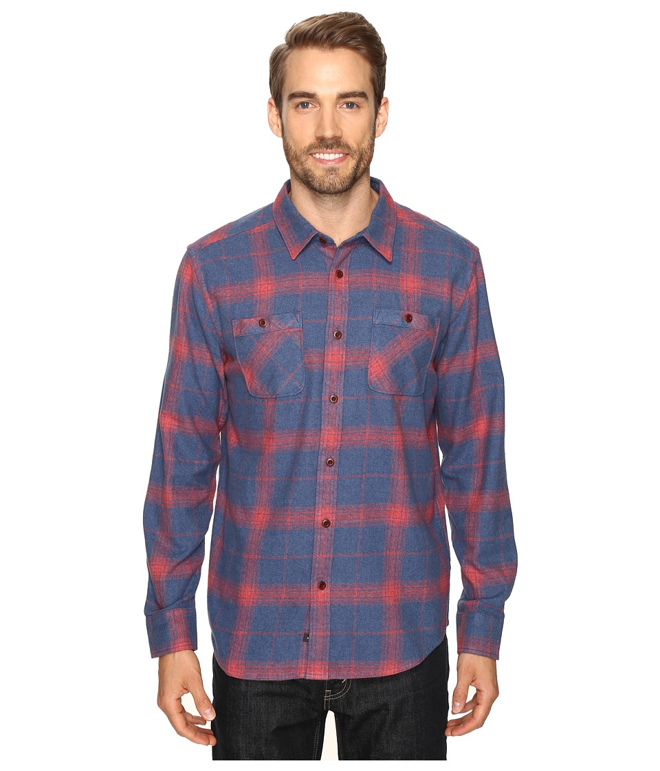 Quiksilver Waterman - Go Forth (Ensign Blue) Men's Long Sleeve Button Up