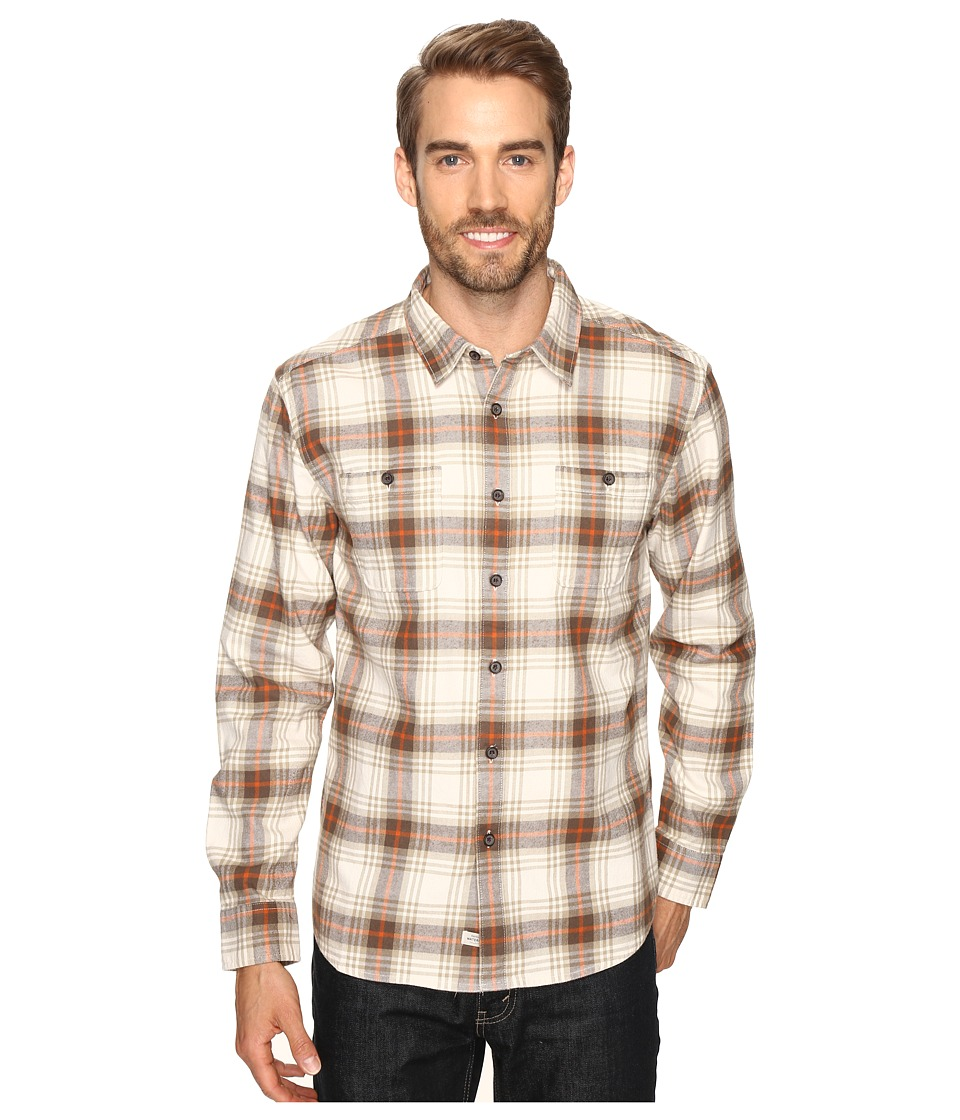 Quiksilver Waterman - Penninsula (Pristine) Men's Long Sleeve Button Up