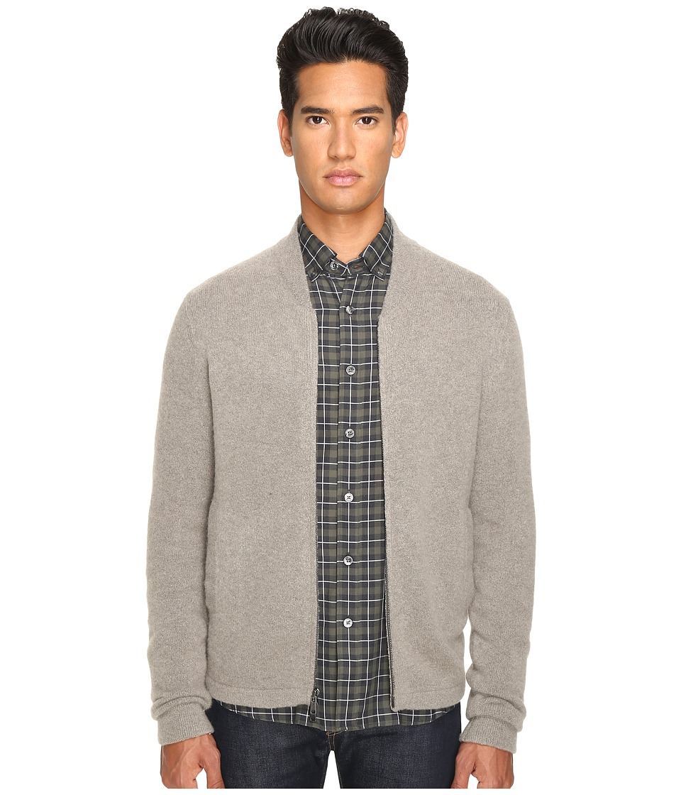Todd Snyder - Cashmere Barracks Jacket (Grey) Men's Coat