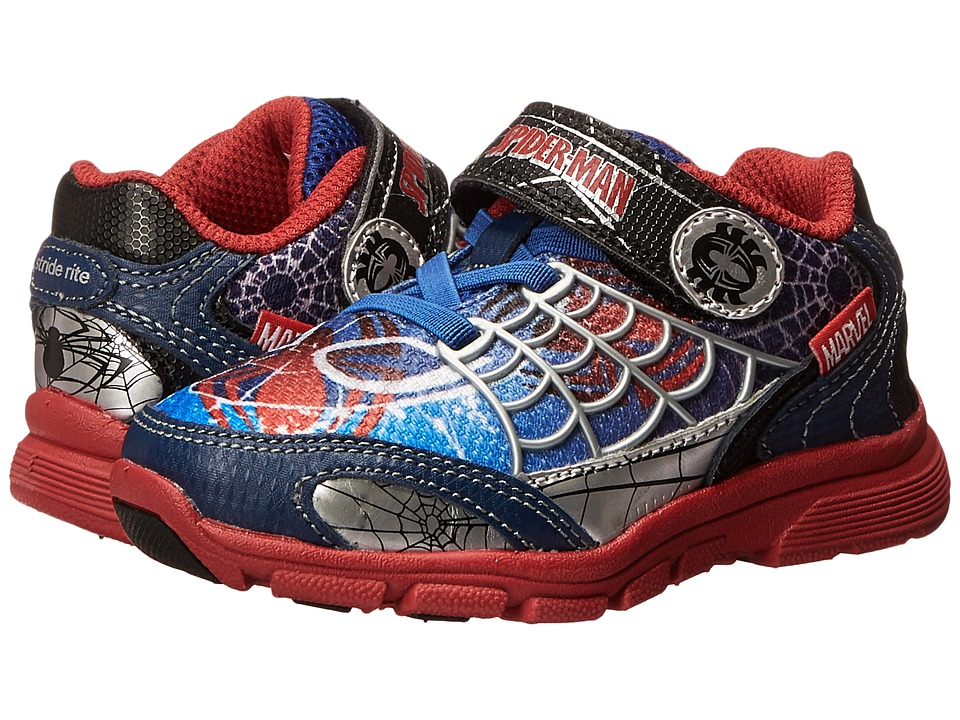Stride Rite - Spider-Man Spidey Sense (Toddler/Little Kid) (Blue/Red) Boy's Shoes