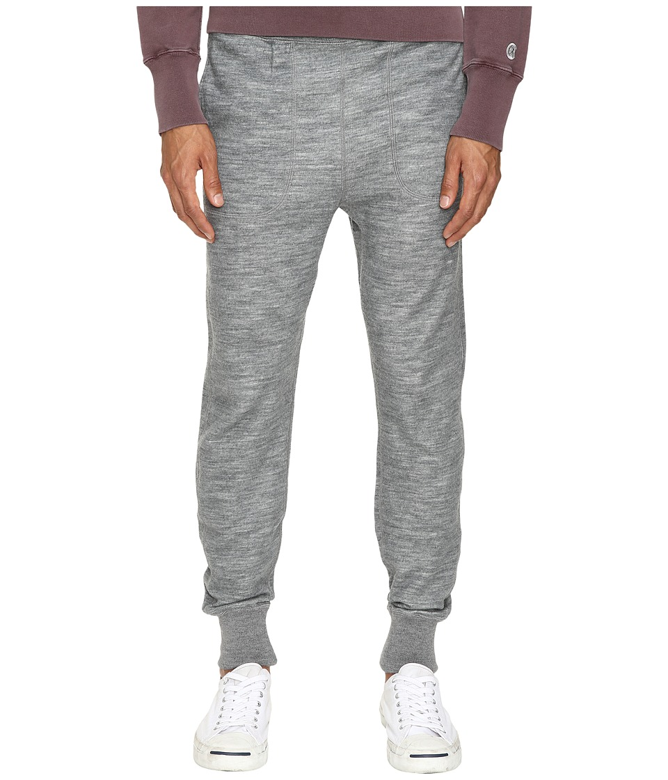 Todd Snyder - Wool Blend Slim Sweatpants (Light Grey) Men's Casual Pants