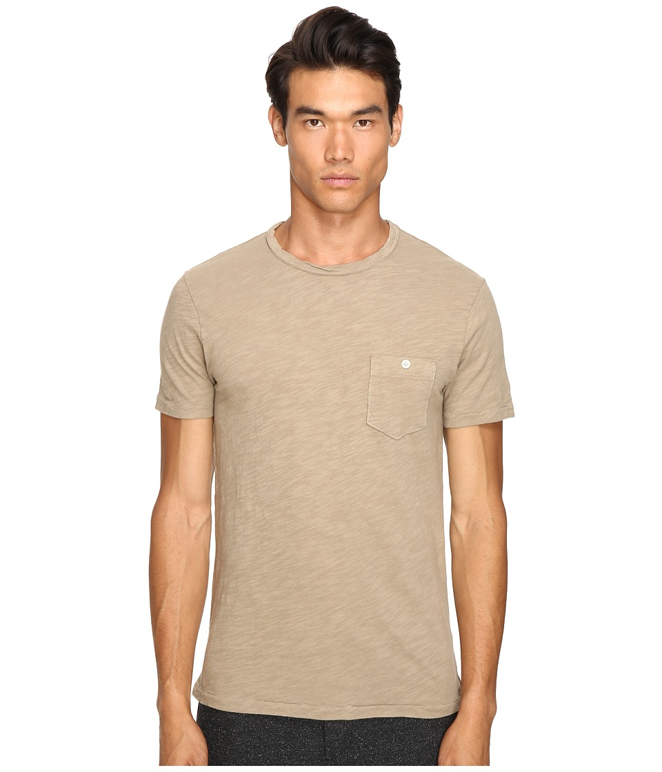 Todd Snyder - Classic Pocket T-Shirt (Oak) Men's T Shirt
