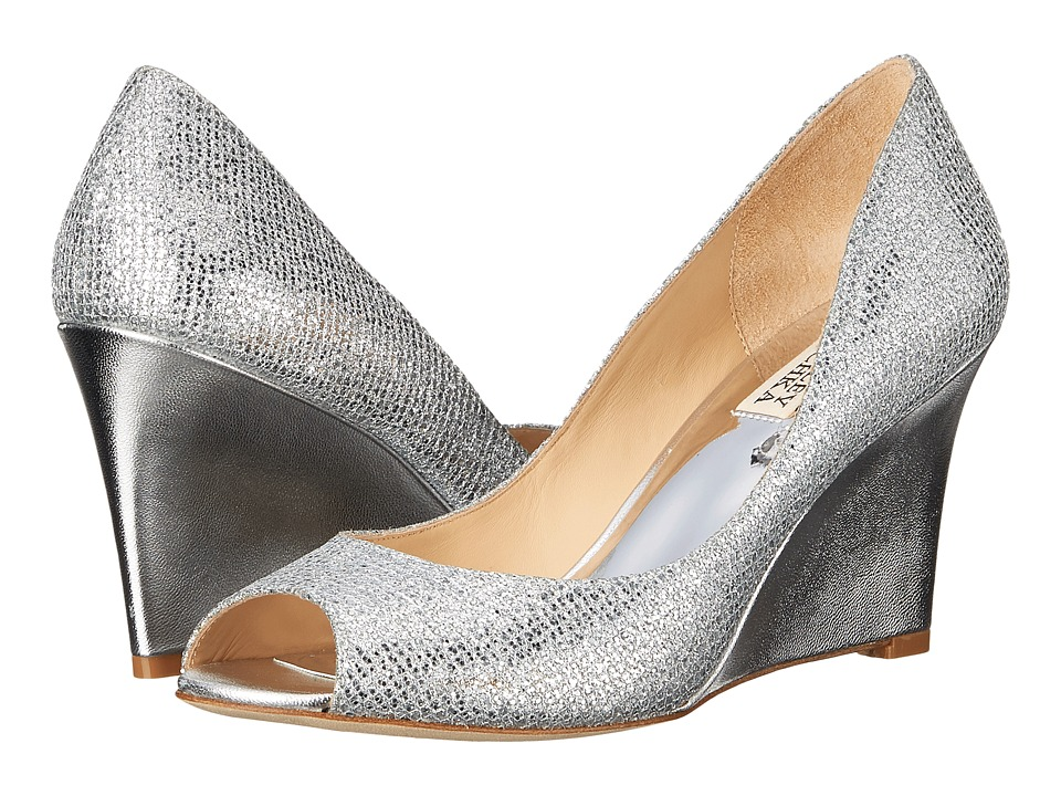 Badgley Mischka Awake (Silver Glitter) Women