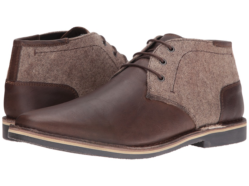 Steve Madden - Harken1 (Extended Sizes) (Brown Multi) Men's Shoes