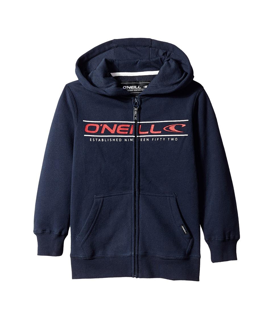 O'Neill Kids - Collect Zip Sweatshirt (Little Kids) (Indigo) Boy's Sweatshirt