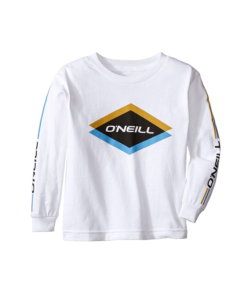 O'Neill Kids - Carbide Long Sleeve Shirt (Big Kids) (White) Boy's Long Sleeve Pullover