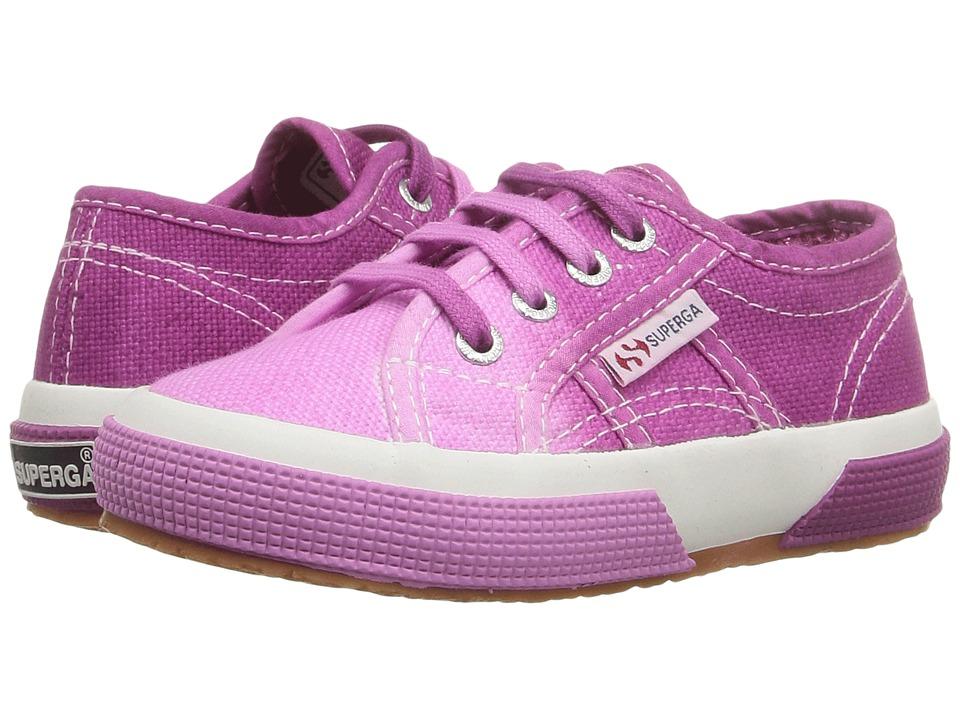 Superga Kids 2750 COTJ Shade (Infant/Toddler/Little Kid/Big Kid)) (Pink/Maroon) Girls Shoes