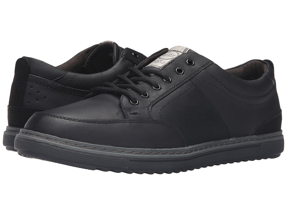 Nunn Bush - Anthony (Black) Men's Lace up casual Shoes