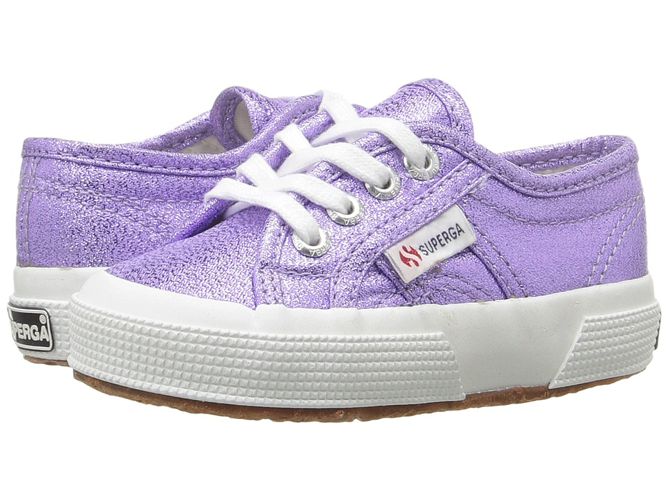 Superga Kids - 2750 LAMEJ (Toddler/Little Kid) (Orchid) Girl's Shoes