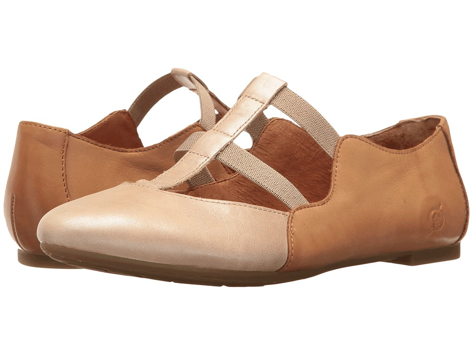 Born - Selmha (Cream/Natural) Women's Shoes