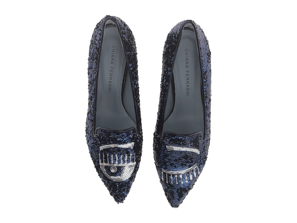 Chiara Ferragni - CF1234 (Navy/Silver) Women's Shoes