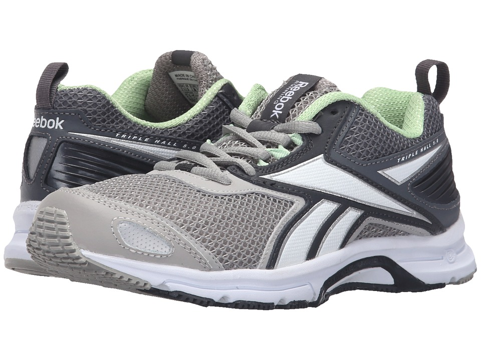 Reebok - Triplehall 5.0 (Tin Grey/Coal/Alloy/Seafoam Green) Women