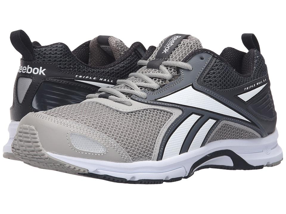 Reebok - Triplehall 5.0 (Tin Grey/Alloy/Coal/White) Men