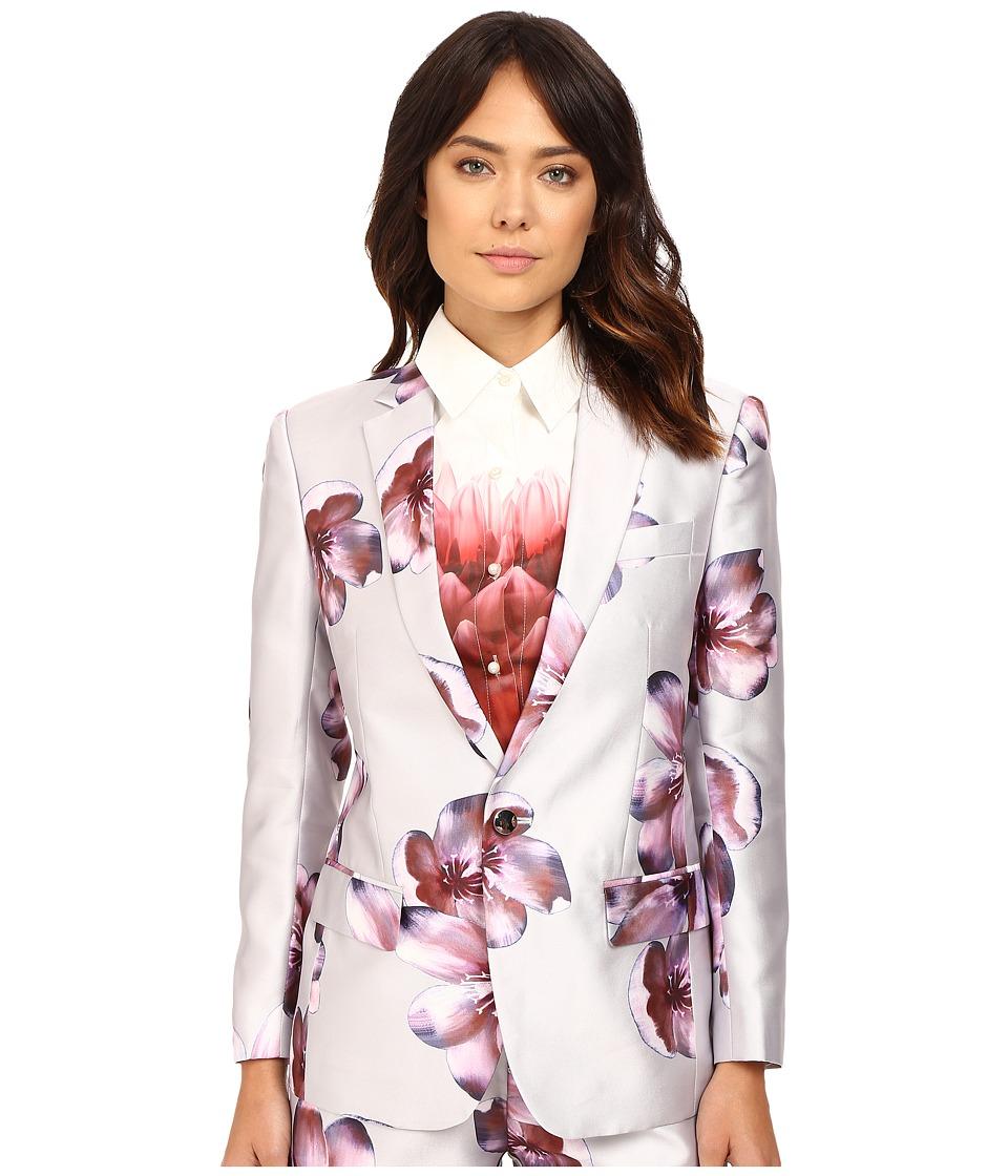 LOVE Binetti - Zz Top Jacket (Grey/Pink) Women's Coat