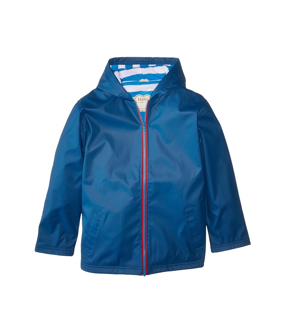 Hatley Kids - Splash Jacket (Toddler/Little Kids/Big Kids) (Blue) Boy's Coat