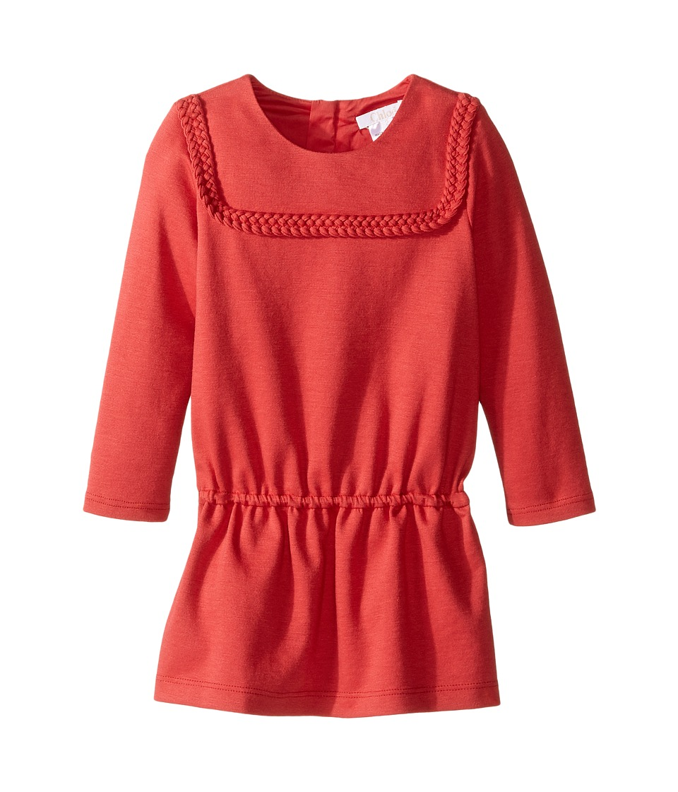 Chloe Kids - Milano Dress w/ Braids Detail (Toddler/Little Kids) (Fruits Bois) Girl's Dress