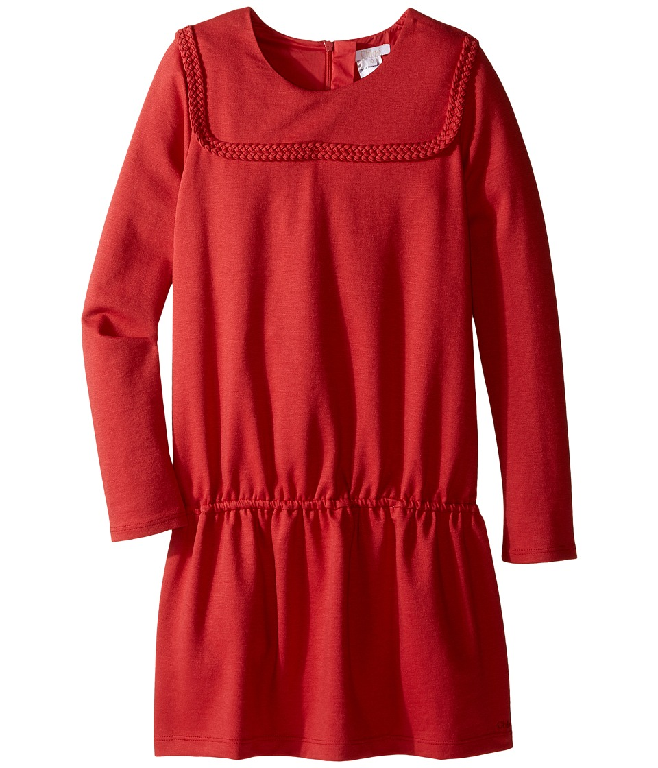 Chloe Kids - Milano Dress w/ Braids Detail (Little Kids/Big Kids) (Fruit Bois) Girl's Dress