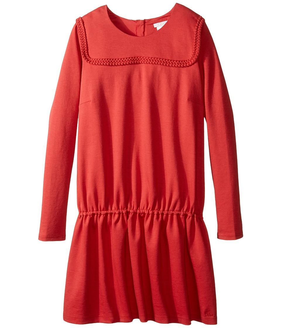 Chloe Kids - Milano Dress w/ Braids Detail (Big Kids) (Fruit Bois) Girl's Dress