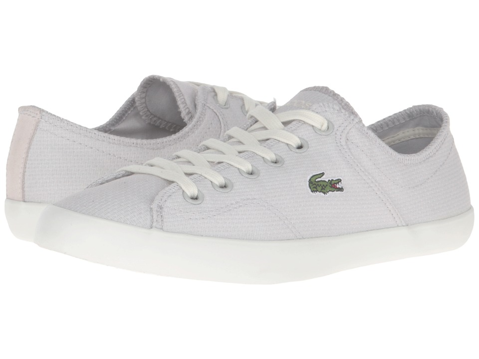 Lacoste - Ramer (Light Grey) Women's Lace up casual Shoes