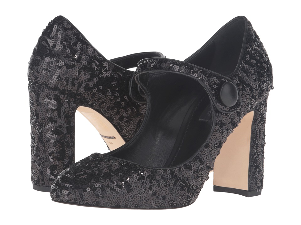 Dolce & Gabbana - Sequins (Black) Women's Shoes