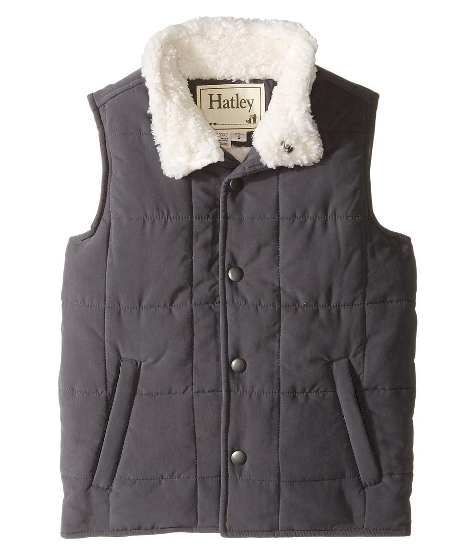 Hatley Kids - Swiss Wilderness Microfiber Sherpa Lined Vest (Toddler/Little Kids/Big Kids) (Brown) Boy's Vest