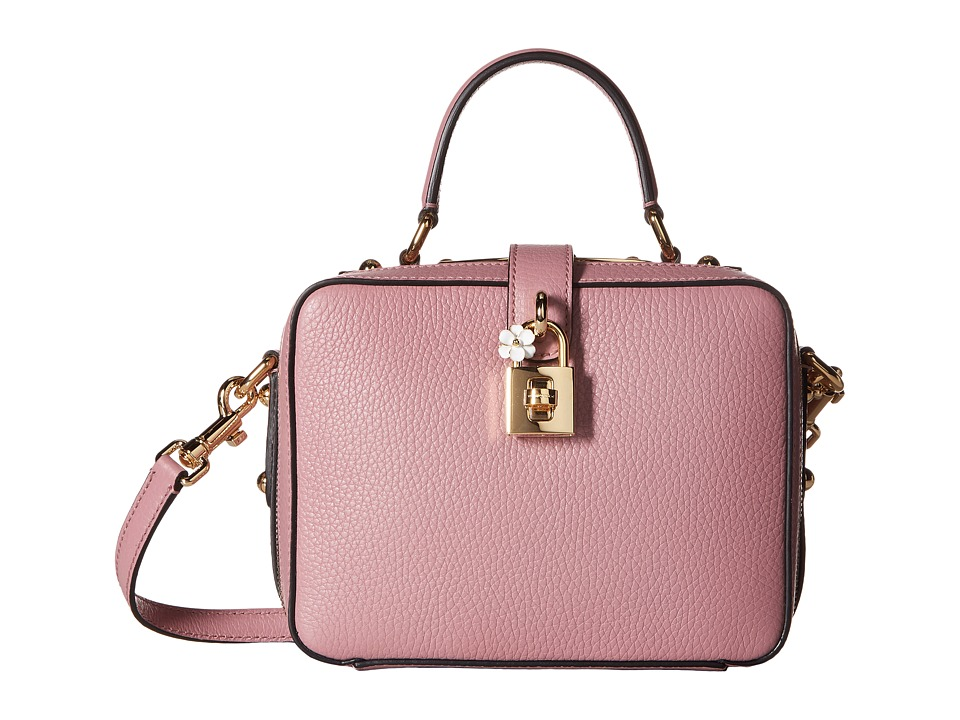 Dolce & Gabbana - Top Handle Handbag (Pink) Cross Body Handbags