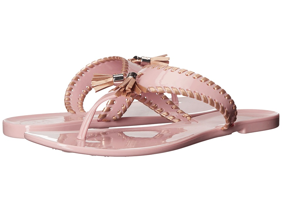 Jack Rogers - Alana Jelly (Blush/Gold) Women's Sandals