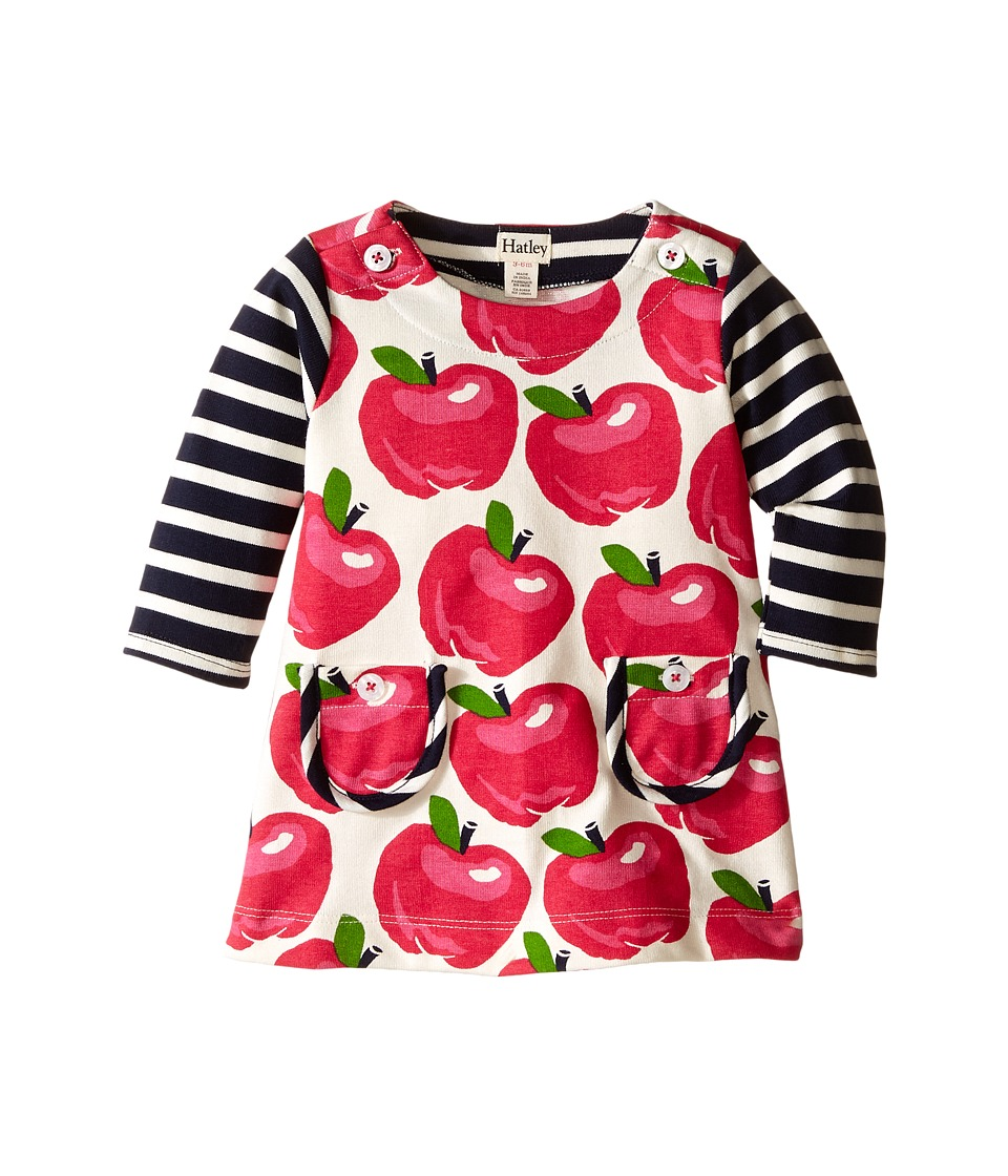Hatley Kids - Nordic Apples Mod Dress (Infant) (Pink) Girl's Dress