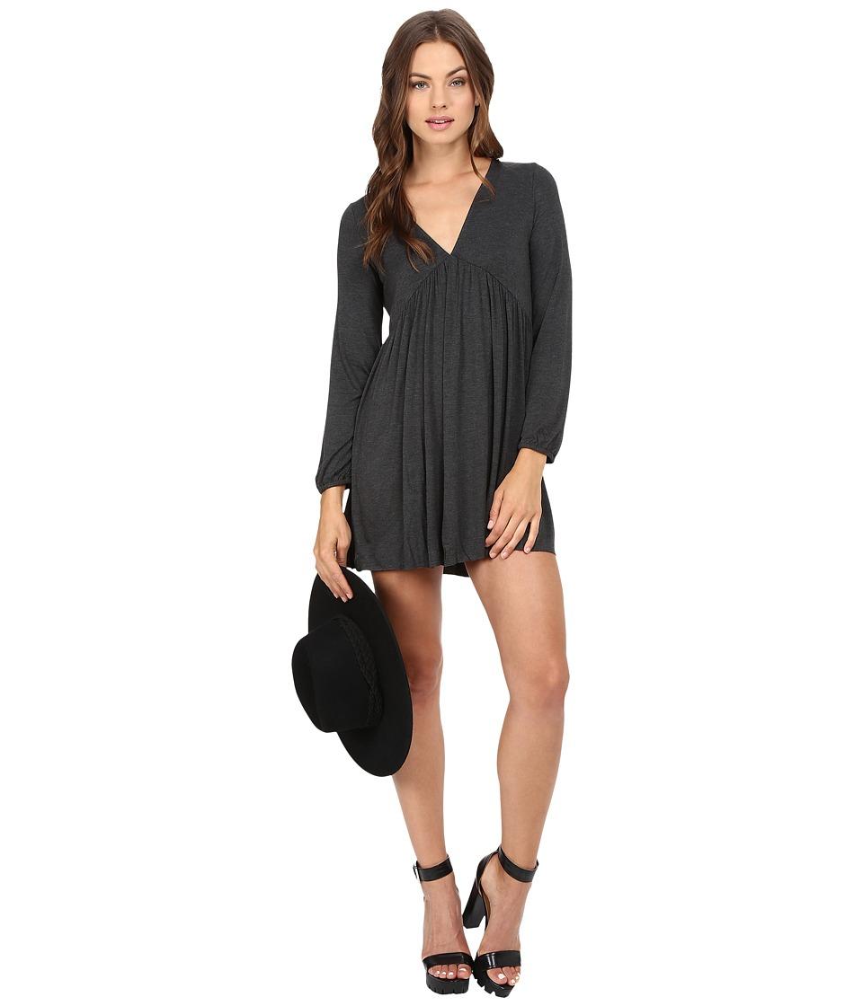 Clayton - Destiny Dress (Charcoal) Women's Dress