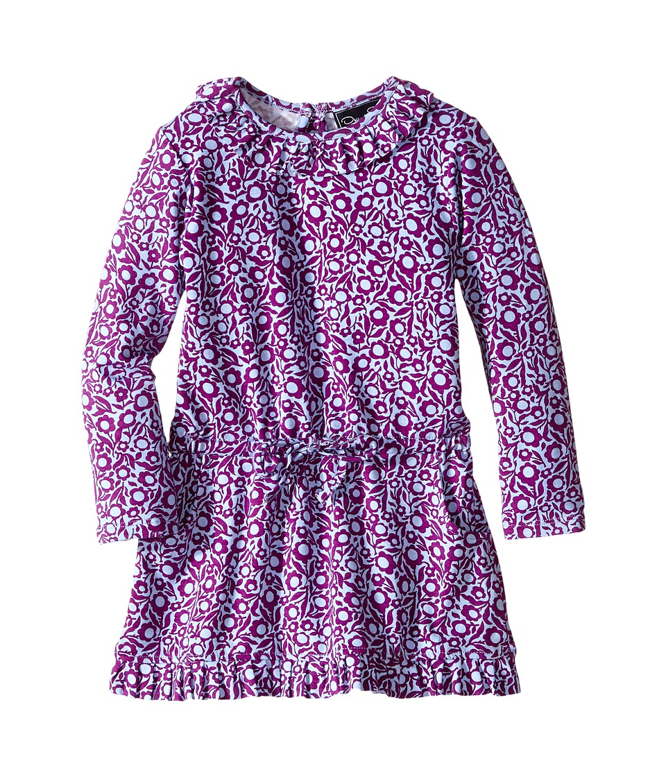 Oscar de la Renta Childrenswear - Graphic Daisy Jersey Dress (Toddler/Little Kids/Big Kids) (Ultraviolet) Girl's Dress