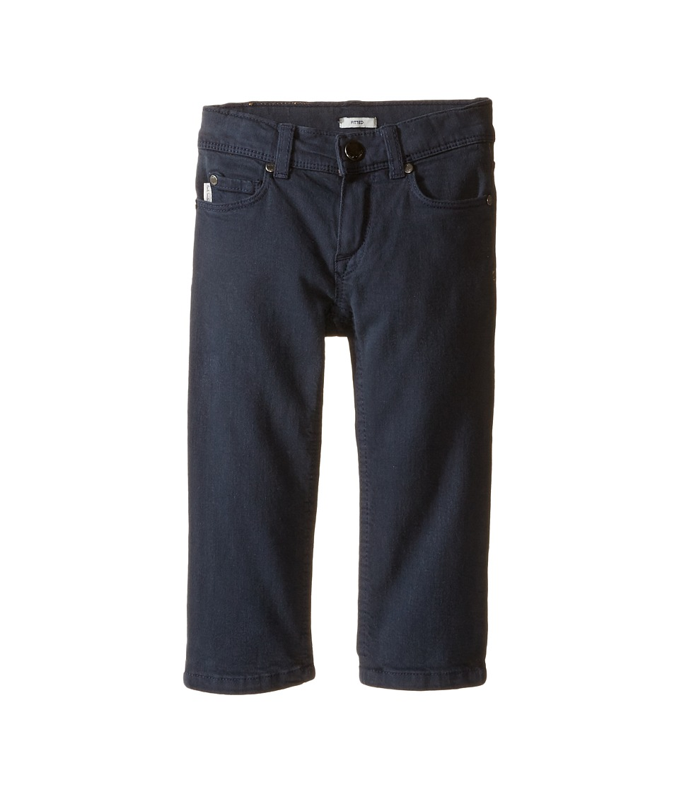 Paul Smith Junior - Plain Fitted Jeans in Petrol Blue (Toddler/Little Kids) (Petrol Blue) Boy's Jeans
