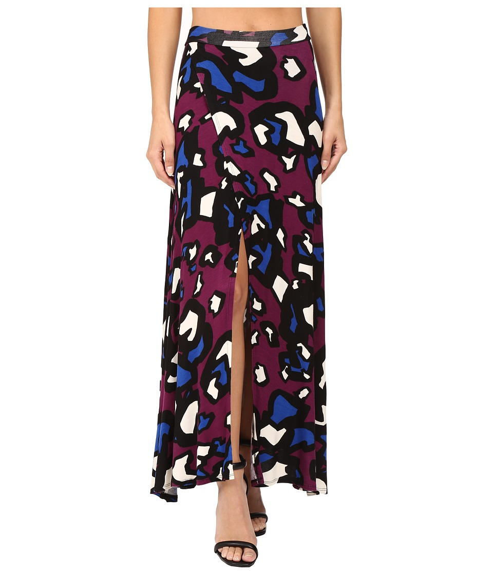 Clayton - Jaya Skirt (Claret Animal) Women's Skirt