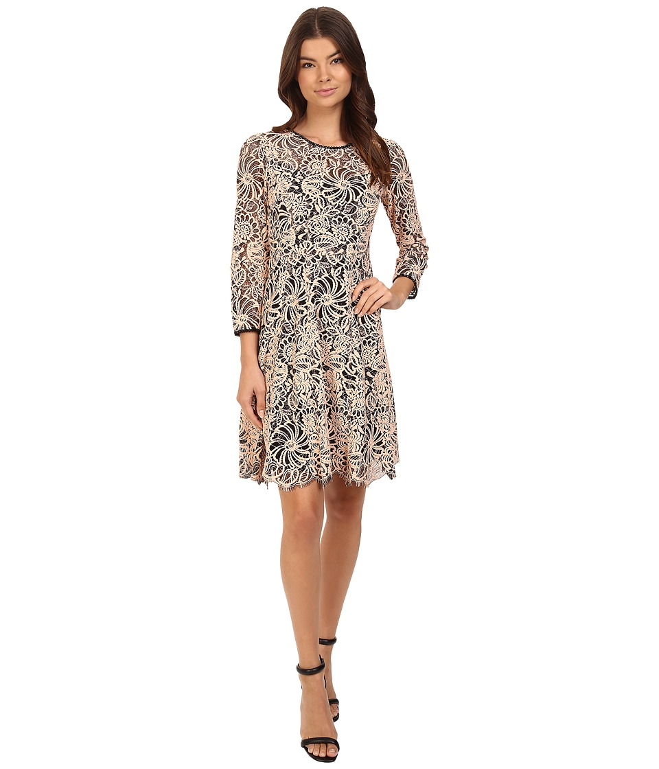 Nanette Lepore - Torn Lovers Dress (Desert Rose) Women's Dress