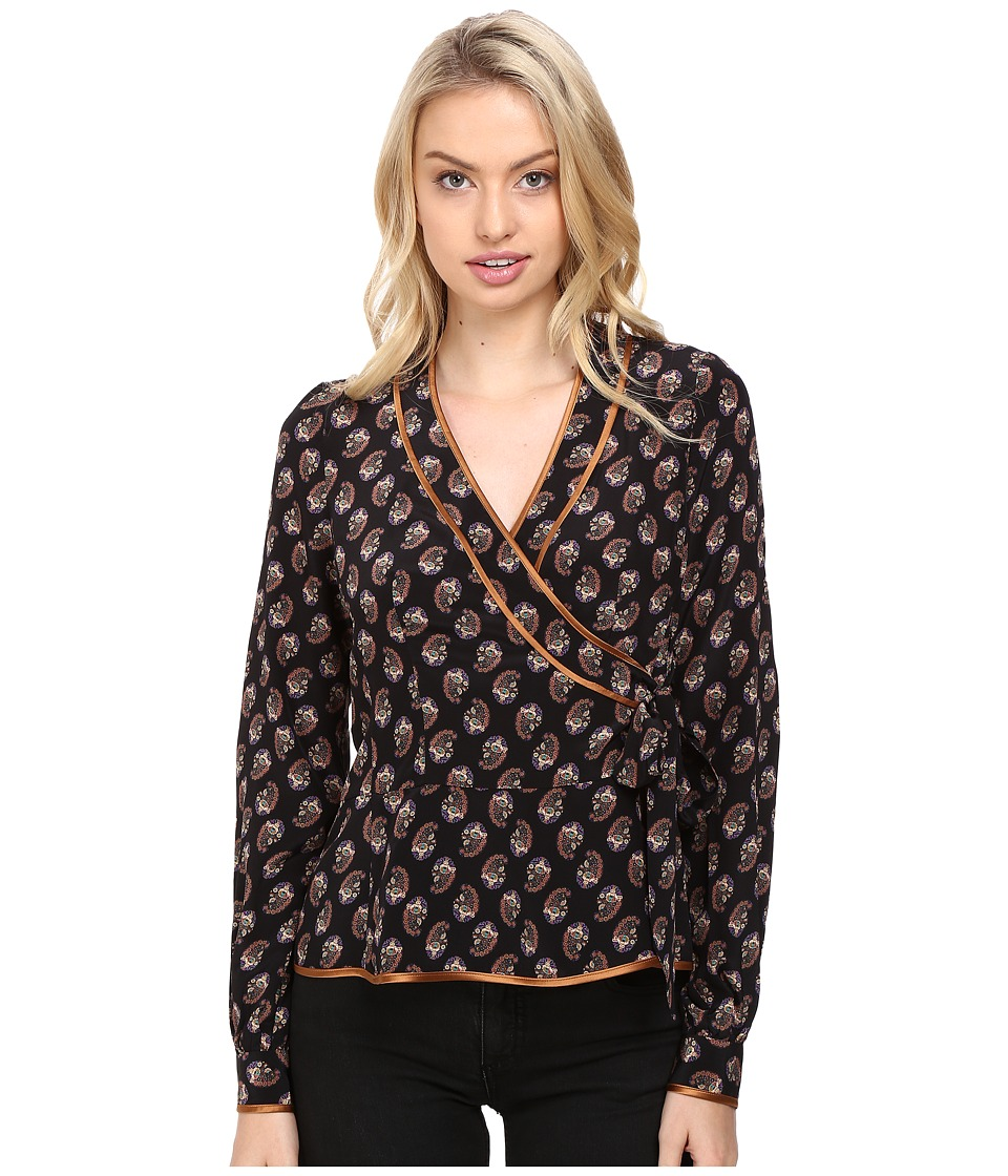 Nanette Lepore - Dream Time Top (Black) Women's Pajama