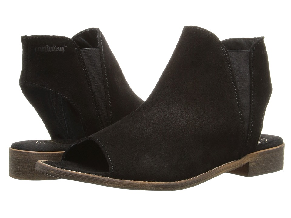 Coolway 1Ciara (Black Nappa Oiled Suede) Women